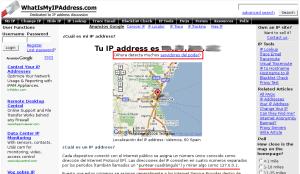 Web en ¿castellano?